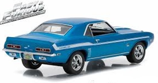 "Chevrolet Camaro Yenko ""2 Fast 2 Furious"" Blauw/wit 1:43 Greenlight Collectibles"