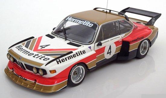 BMW 3.5 CSL Gruppe 5 #4 Winner 6h Silverstone 197 -18 Minichamps Limited 1002 pcs.