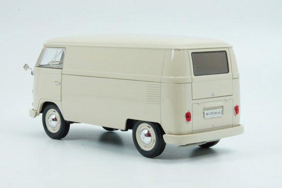 Volkswagen T1 Bus 1963 Beige 1:18 Welly