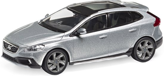 Volvo V40 Cross Country 1:43 Electric Silver Motorart