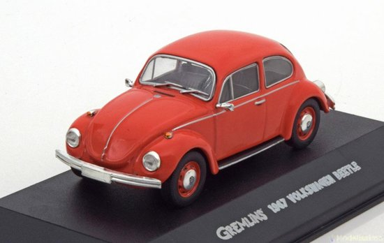 Volkswagen Beetle *Gremlins 1984*, Rood 1967 Greenlight Collectibles 1/43