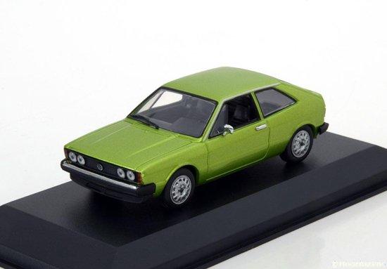 Volkswagen Scirocco 1 1974 Groen Metallic 1-43 Maxichamps