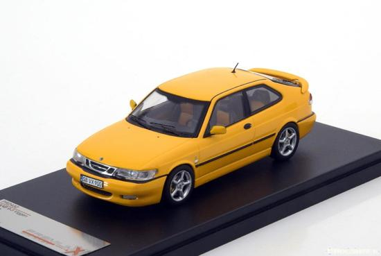 Saab 9-3 Viggen 1999 Geel 1-43 PremiumX