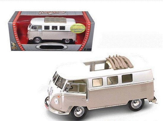 Volkswagen Microbus Sliding Sunroof Edition 1962 1:18 Road Signature