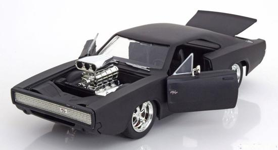 """Dodge Charger R/T 1970 """"Fast and the Furious"""" Matzwart 1-24 Jada Toys"""