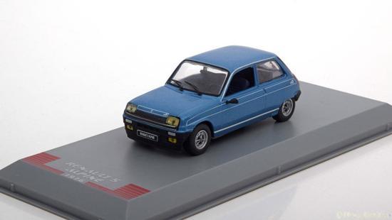 Renault 5 Alpine 1976 Blauw 1:43 WhiteBox Limited 1000 Pieces