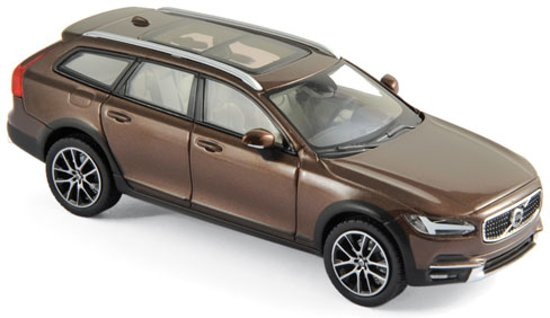 Volvo V90 Cross Country 2017 Maple Brown 1:43 Norev