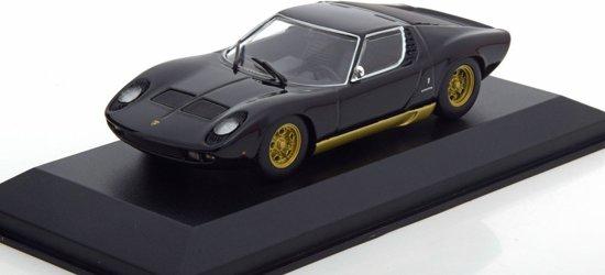 Lamborghini Miura 1966 Zwart 1:43 Maxichamps