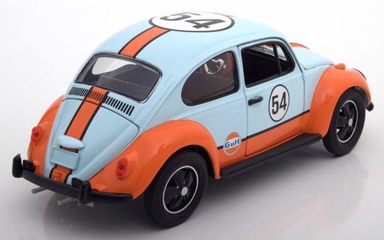 Volkswagen Beetle Gulf Oil Racer #54 1/18 Diecast Model Car by Greenlight Collectibles