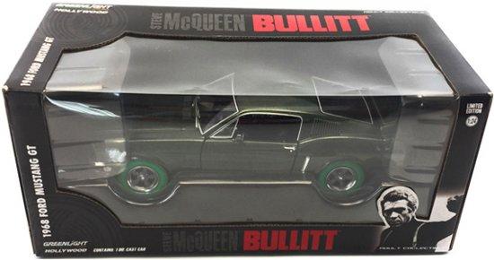 Ford Mustang GT 1968 1:24 Groen Greenlight