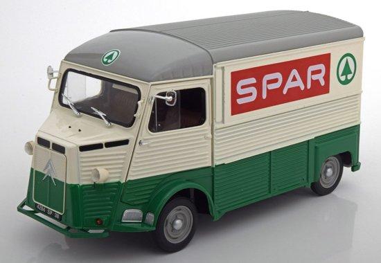 """Citroen Type HY """"SPAR"""" 1969 Wit / Groen 1-18 Solido"""
