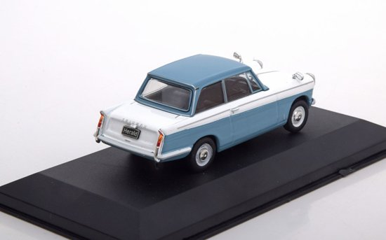 Triumph Herald 1959 Blauw / Wit 1-43 Whitebox Limited 1000 Pieces