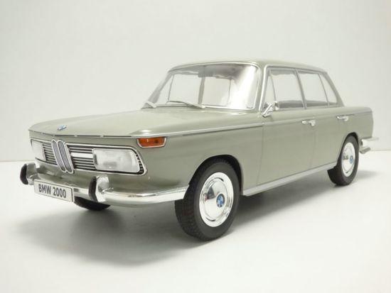 BMW 2000 Ti 1966 Grijs 1-18 MCG Models