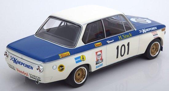 BMW 2002 Koepchen No.101 500km Eifelpokalrennen ADAC 1971 Stuck 1-18 Minichamps Limited 600 pcs.