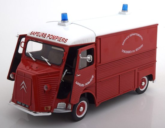 "Citroen Type HY 1969 ""Sapiers Pompiers ""Rood 1-18 Solido"