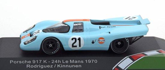 Porsche 917 K No.21, 24h Le Mans 1970 Rodriguez/Kinnunen 1-43 CMR Classic Models