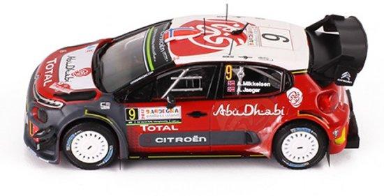 Citroen C3 WRC #9 Rally Sardegna 2017 A.Mikkelsen - A.Synnevaag 1-43 Ixo Models