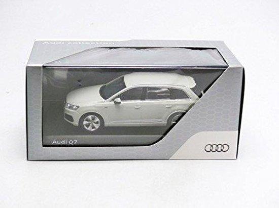 Audi Q7 2015 Glacier Wit 1-43 Spark Dealer