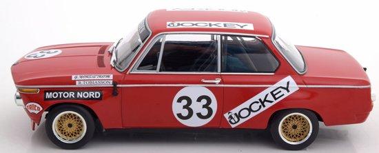 BMW 2002 No.33 6h Nürburgring 1972 Tobiasson/Nordström 1-18 Minichamps Limited 450 pcs.