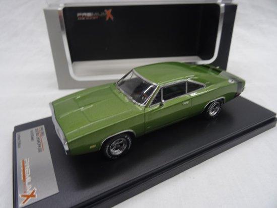 Dodge Charger 500 1970 Groen 1:43 PremiumX