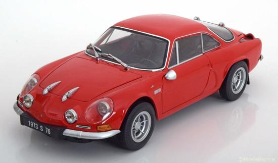 Renault Alpine A110 1600S Rood 1-18 Kyosho