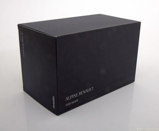 Renault Alpine A110 1600S Geel 1-18 Kyosho