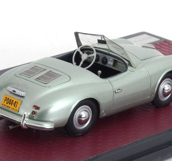 Porsche 356 America Roadster 1952 Groenzilver Metallic 1-43 Matrix Scale Models Lim.299 Pieces