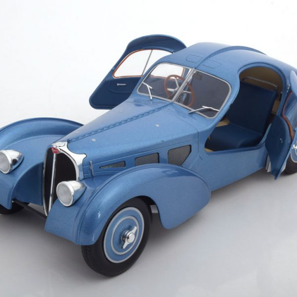 Bugatti Type 57 SC Atlantic 1938 Blauw 1:18 Solido