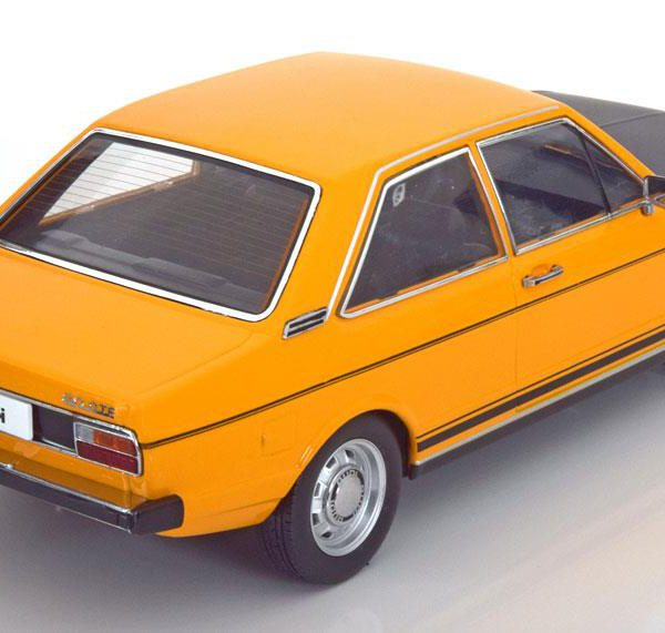 Audi 80 GTE Geel / Zwart 1:18 KK-Scale Limited 1500 Pieces
