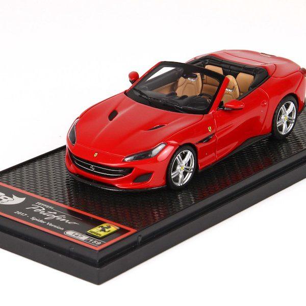 Ferrari Portofino 2017 Rossa Corsa 1-43 BBR Models Limited 159 Pieces