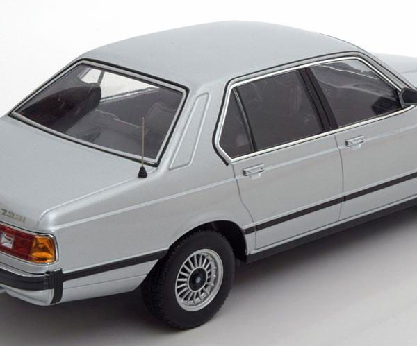 BMW 733i E23 1977 Zilver 1-18 KK Scale Limited 1000 Pieces