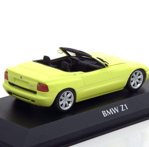 BMW Z1 ( E30 ) 1991 Cabriolet Geel 1-43 Maxichamps