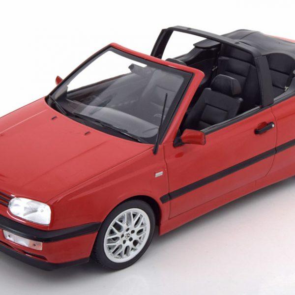 Volkswagen Golf III Cabriolet 1995 Rood 1-18 Norev