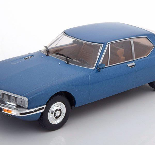 Citroen SM 1970 Blauw 1-24 Whitebox