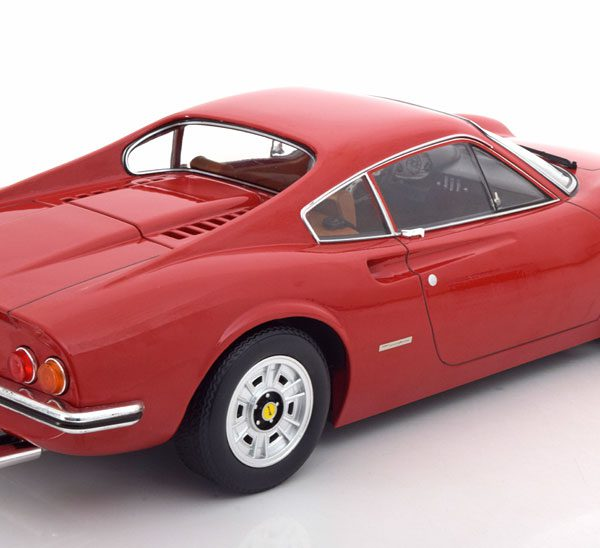 Ferrari 246 GT Dino 1973 Rood 1:12 KK-Scale Limited 600 Pieces