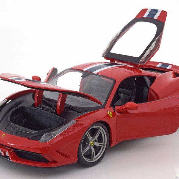 Ferrari 458 Speciale 1-18 rood Burago