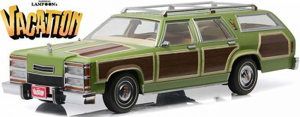 Wagon Queen Family Truckster National Vacation 1983 1:18 Greenlight