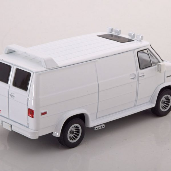 GMC Vandura Custom 1983 Wit 1-43 Greenlight Collectibles