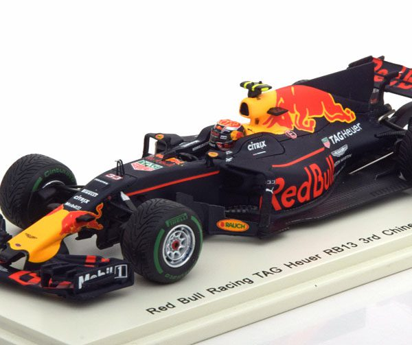 Red Bull RB13 GP China 2017 Max Verstappen 1-43 Spark