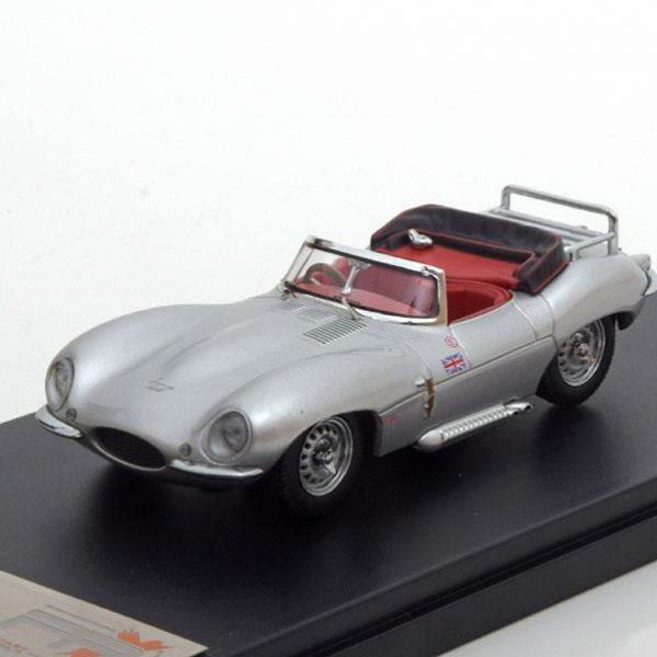 Jaguar XK SS 1957 Zilver 1-43 PremiumX