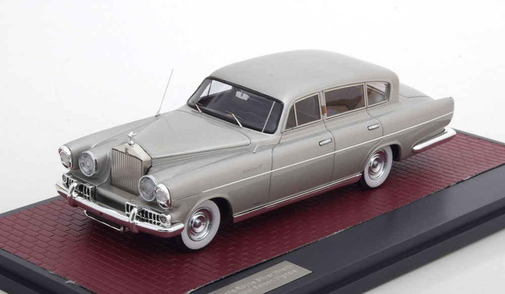 "Rolls-Royce Silver Wraith LWB Special Saloon, by Vignale 1954 ""Louwman Collection"" 1-43 Matrix"