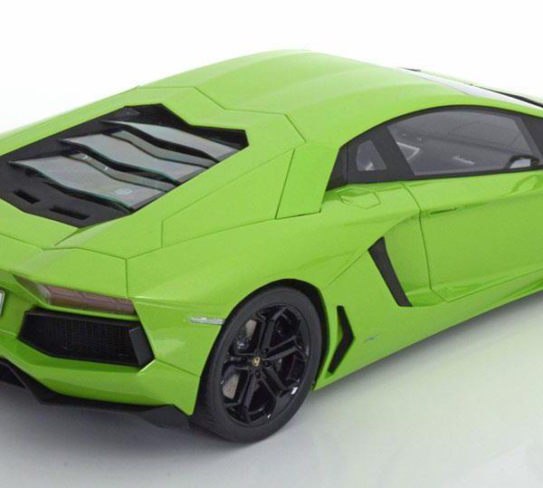 Lamborghini Aventador LP 700-4 Groen 1-12 Kyosho