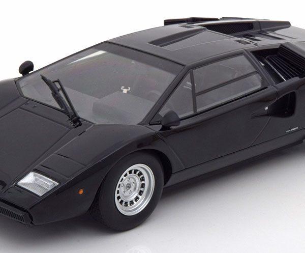 Lamborghini Countach LP400 1974-1978 Zwart 1-18 Kyosho