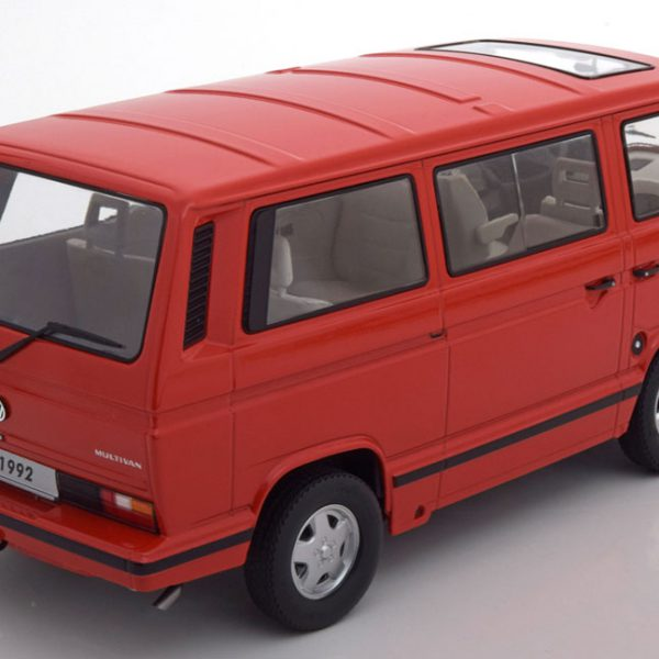 Volkswagen Bus T3 1992 Last Edition Rood 1:18 KK Scale Limited 1250 Pieces
