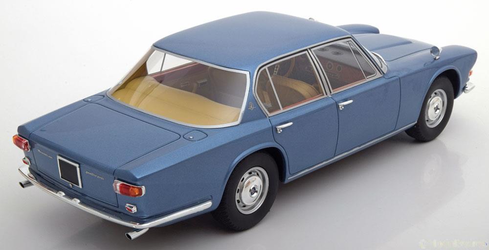 Maserati Quattroporte 1966 Blauw 1:18 BOS-Models Limited 1000 Pieces