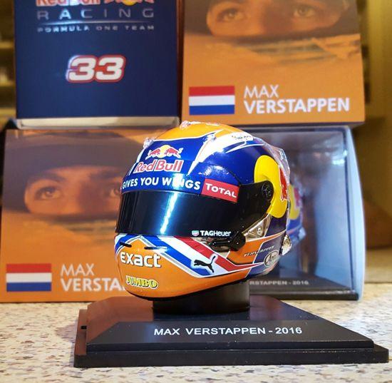 Max Verstappen 1-5 scale Helmet Spa 2016 - Spark - Red Bull