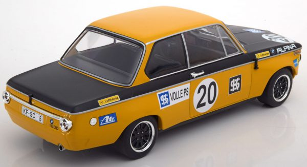 "BMW 1600 BMW Alpina No.20, Sieger ETCC Salzburgring 1970 ""Helmut Marko "" 1-18 Minichamps - Limited 500 pcs. -"