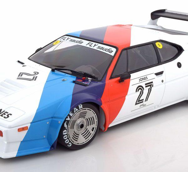 BMW M1 Procar No.27, Procar Series 1979 BMW Motorsport Jones 1-12 Minichamps