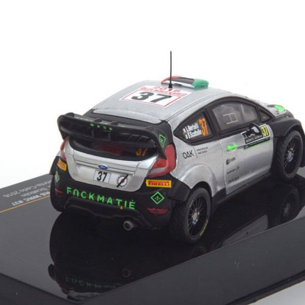 Ford Fiesta RS WRC No.37,Rally Monte Carlo 2016 Bertelli/Scattolin 1-43 Ixo Models