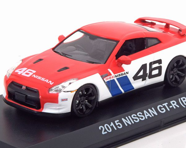 Nissan GT-R (R35) No.46 2015 1-43 Greenlight Collectibles
